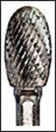 "Double Cut Carbide Burr SE5 size: 1/2""x7/8""x1/4"""