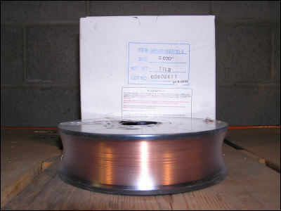 Weldcote's Carbon Steel 11 LB Spool #E70S6030X11SP