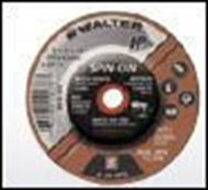 "WALTER 08-B-450 ""SPIN-ON"" 4 1/2"" x 1/4"" Grinding Wheel"