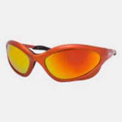 Miller Shade 5.0 Safety Glasses Orange Frame