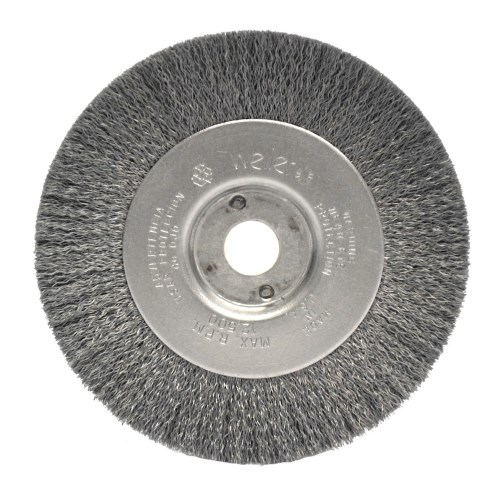 "Weiler 4"" Narrow Face Crimped Wire Wheel 00184"