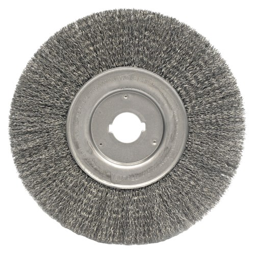 "Weiler 10"" Narrow Face Crimped Wire Wheel 01259 (2 pk)"