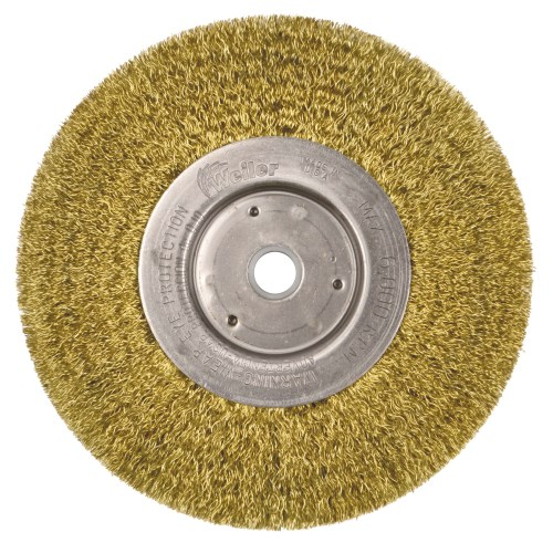 "Weiler 6"" Narrow Face Crimped Wire Wheel 01475 (2 Pk)"