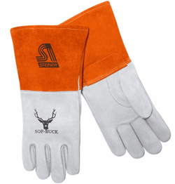 Steiner Industries Sof-Buck™ Premium Heavyweight Split Deerskin MIG Welding Gloves #02275