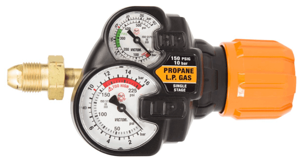 VICTOR EDGE 2.0 REGULATOR - LP GAS #0781-3607