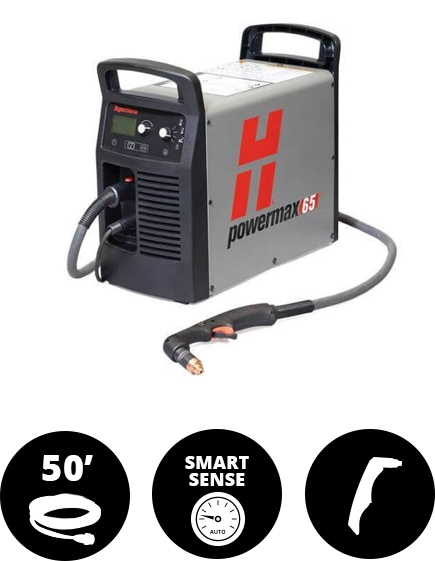 Hypertherm Powermax 65 50ft Hand Torch
