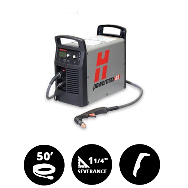 Hypertherm Powermax 85 50ft Hand system
