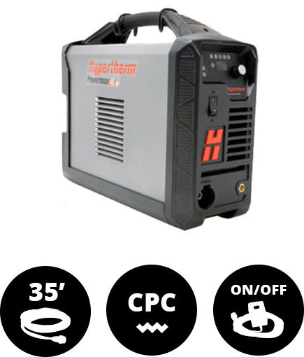 Hypertherm Powermax45 XP Machine System CPC 35' w/ Remote On/Off