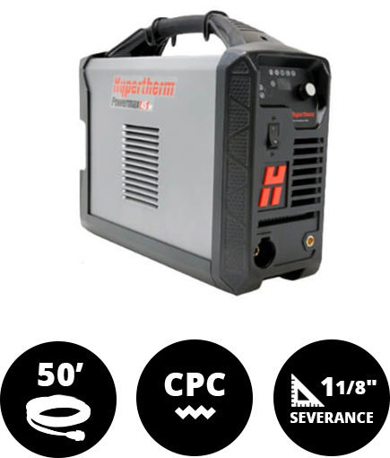 Hypertherm Powermax 45 XP Machine System CPC 50' Leads