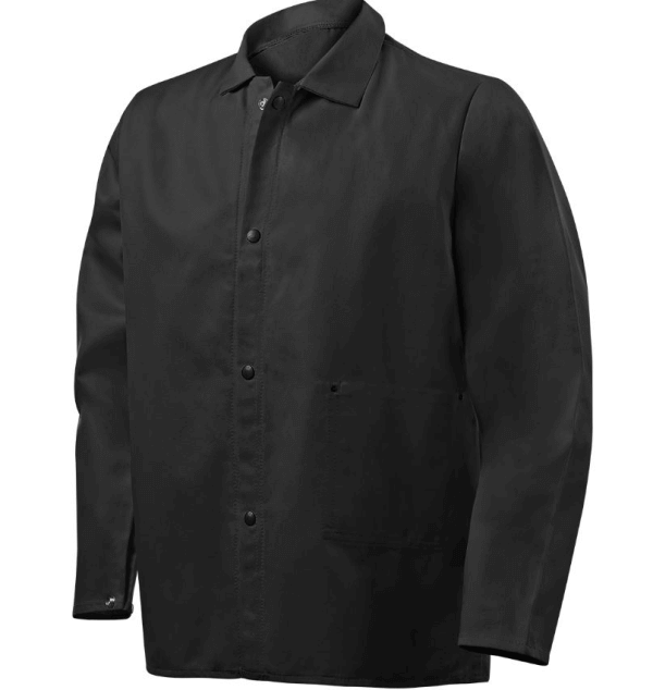 "Steiner Industries 9 oz FR Cotton Jacket - 30"" Black #1080"