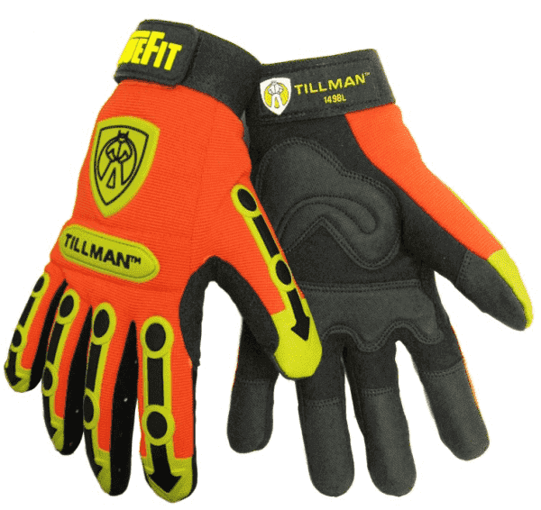 Tillman TrueFit Work Gloves with TPR Pads