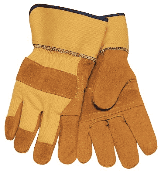 Tillman 3-Piece Palm Cowhide Work Gloves
