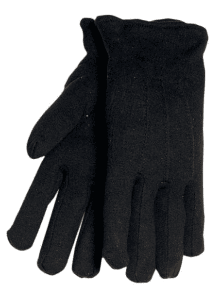 Tillman Cotton Brown Jersey Gloves