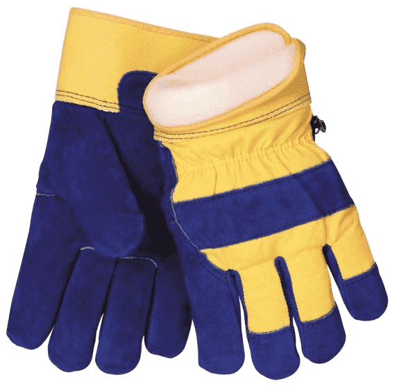 Tillman Cowhide & Cotton Winter Work Gloves