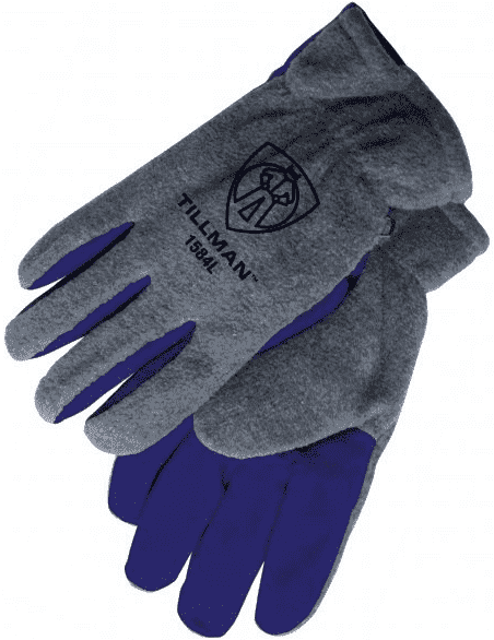 Tillman Cowhide & Polar Fleece Winter Work Gloves