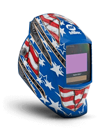 Miller Welding Helmet Stars and Stripes Front 281002