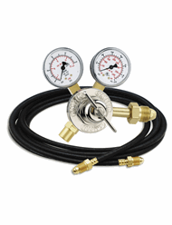 MillerArgon, Carbon Dioxide Or Nitrogen Calibration Flowmeter Regulator (with Hose) #195050