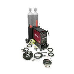 "Thermal Arc Fabricator 3"" 1 252I Portable w/Dual Cyl cart+Spoolgun"