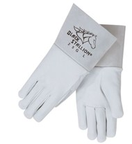 Revco Black Stallion Pearl White Grain Goatskin TIG Glove #25G