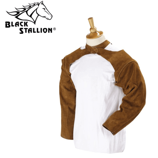 "Black Stallion 25"" Split Cowhide Sleeves #25SLV"