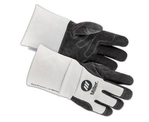 Miller® Classic Welding Gloves Size XL - Goatskin MIG Gloves #271891