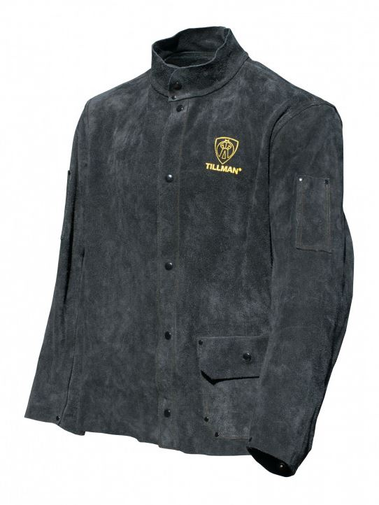 Tillman Premium Black Split Cowhide Welding Jacket #3281