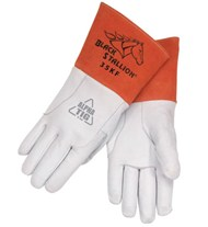 Revco Black Stallion Pearl White Kidskin TIG Glove #35KF