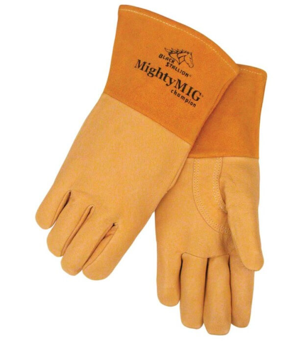 Revco Black Stallion  MightyMIG® Premium Grain Pigskin MIG Glove #39CHMP