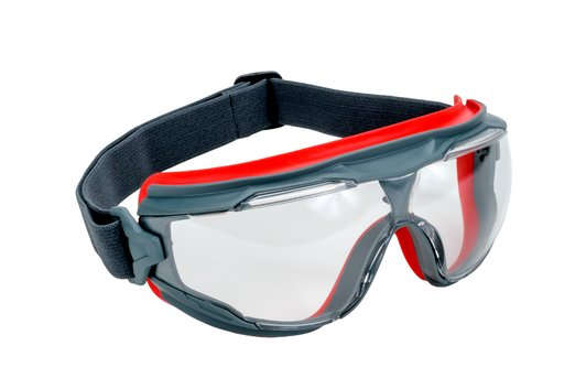 3M™ GoggleGear™ 500 Series GG501SGAF, Clear Scotchgard™ Anti-fog lens
