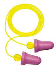 3M™ No-Touch™ Corded Push-to-Fit Earplugs, Hearing Conservation P2001