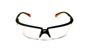3M™ Privo™ Protective Eyewear 12261-00000-20 Clear Anti-Fog Lens, Black Frame #70071541265