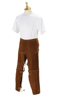 "Black Stallion 40"" Split Cowhide Split-Leg Chaps #40WS"