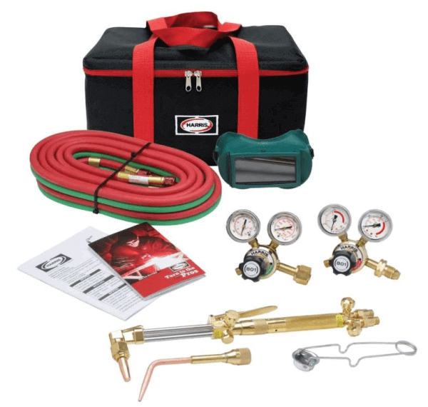 Harris HMD Medium Duty Ironworker Oxygen Acetylene Torch Kit #4400366