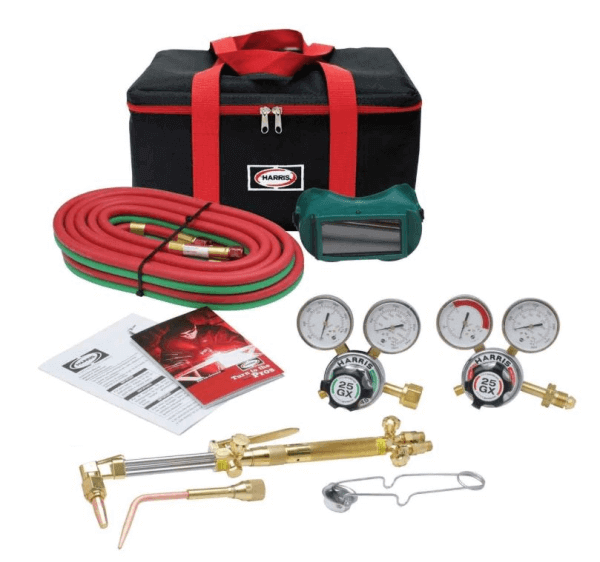 Harris HHD Heavy Duty Ironworker 510 Oxygen Acetylene Torch Kit #4400367