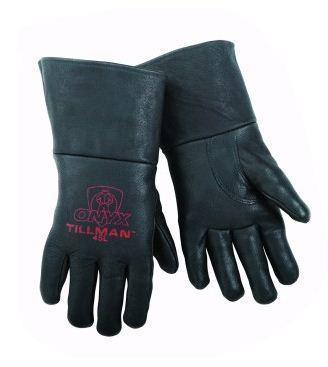 "Tillman 1350 Unlined Top Grain Cowhide MIG Welding Gloves 4/"" Cuff 3X-Large"