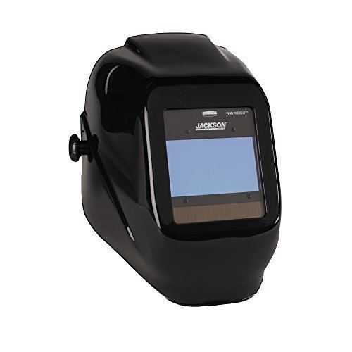 Jackson Insight Digital Variable ADF Welding Helmet-Halo X Black #46131
