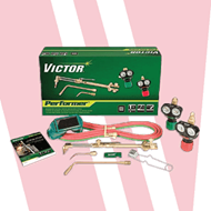 Victor Performer Torch Kit Outfit for PROPYLENE Medium Duty