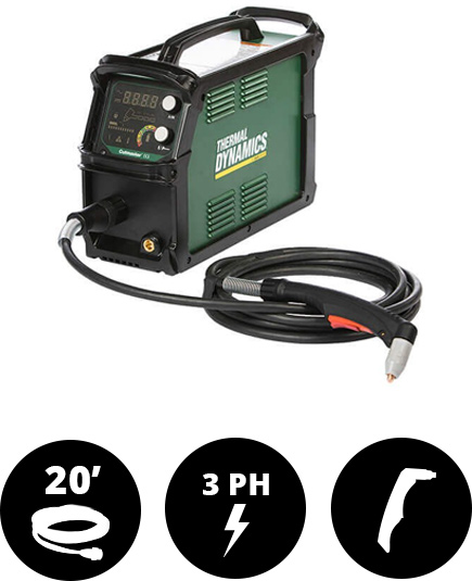 Thermal Dynamics Cutmaster 60i 3-Phase Plasma Cutter 20' Torch #1-5630-2