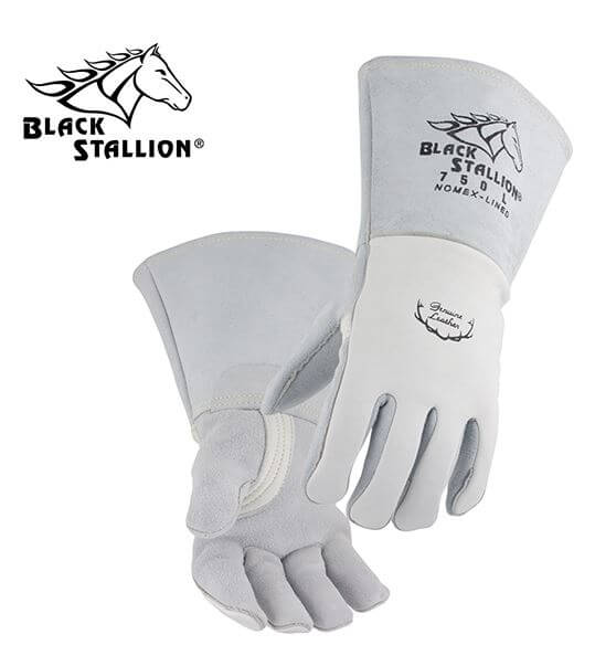 Revco Black Stallion FR Nomex® Lined Elkskin Premium Stick Welding Gloves #750REV
