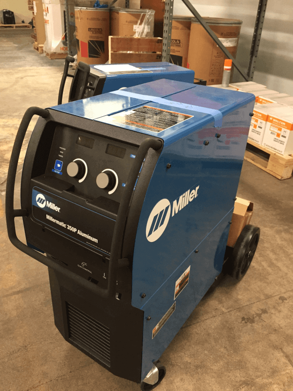 Used Millermatic 350P Aluminum 200/230/460 V, Standard Unit #907474