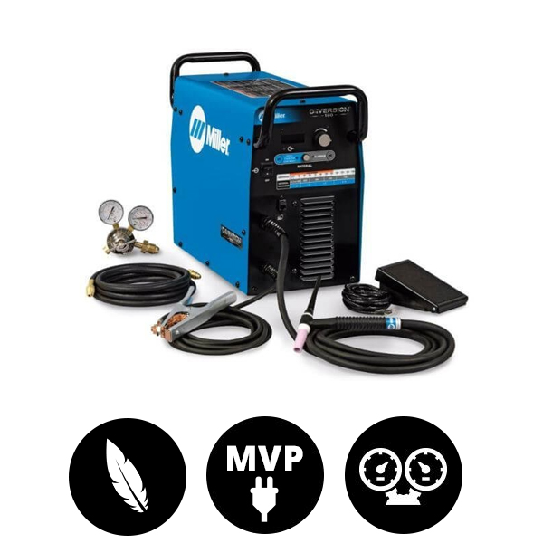 Miller Diversion 180AC/DC Tig Welding Package