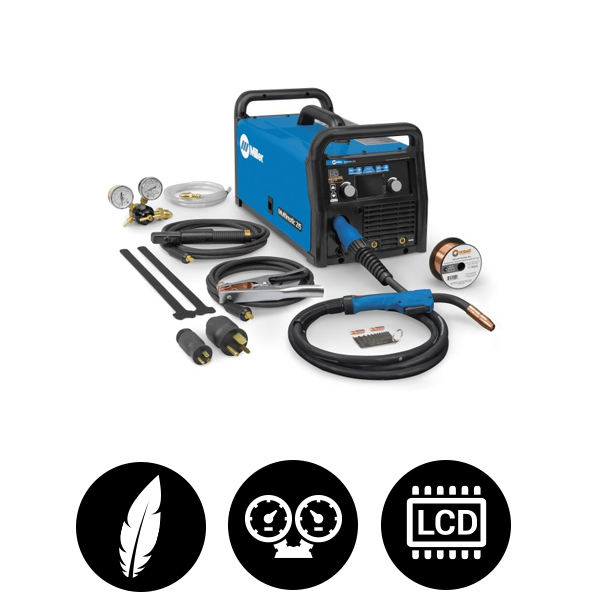 Miller Multimatic 215 MIG/Stick