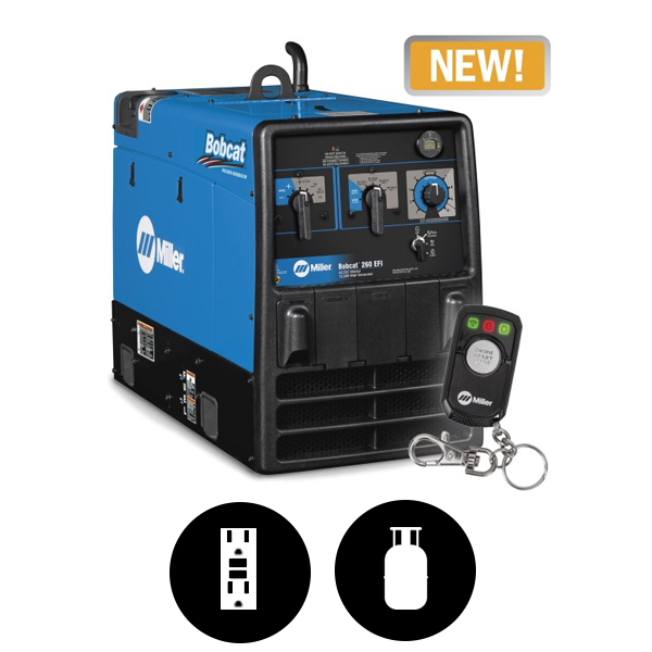 Bobcat 260 LP Engine-Driven Welder 907794