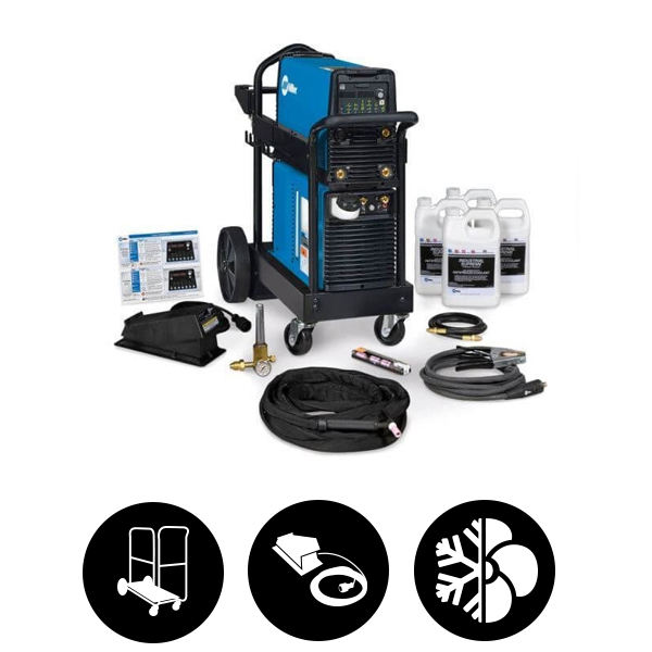 Miller Dynasty 210 DX 120-480 V, Foot Control Complete Package