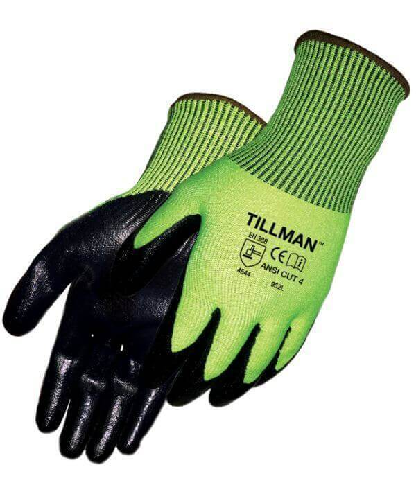 Tillman Cut Resistant Gloves Smooth Nitrile & Polyethylene