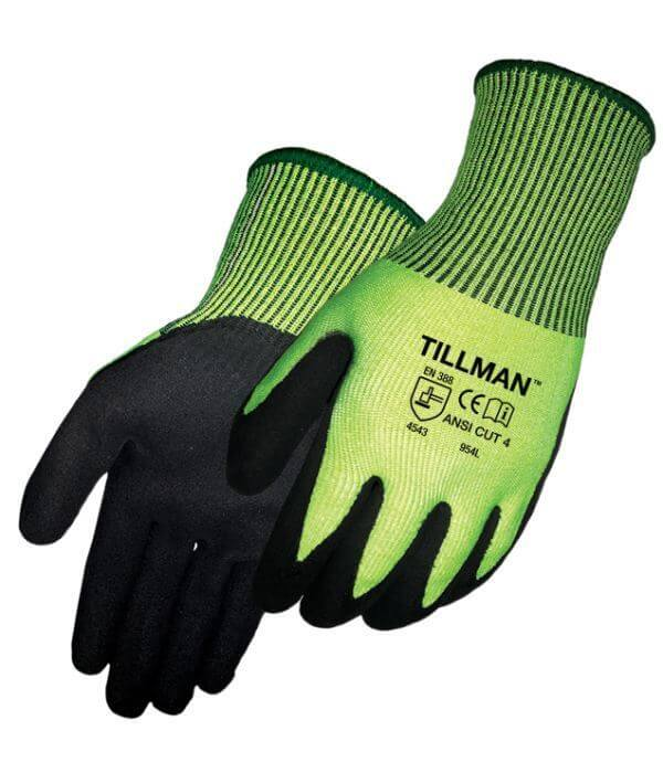 Tillman Cut Resistant Gloves (Sandy Nitrile)