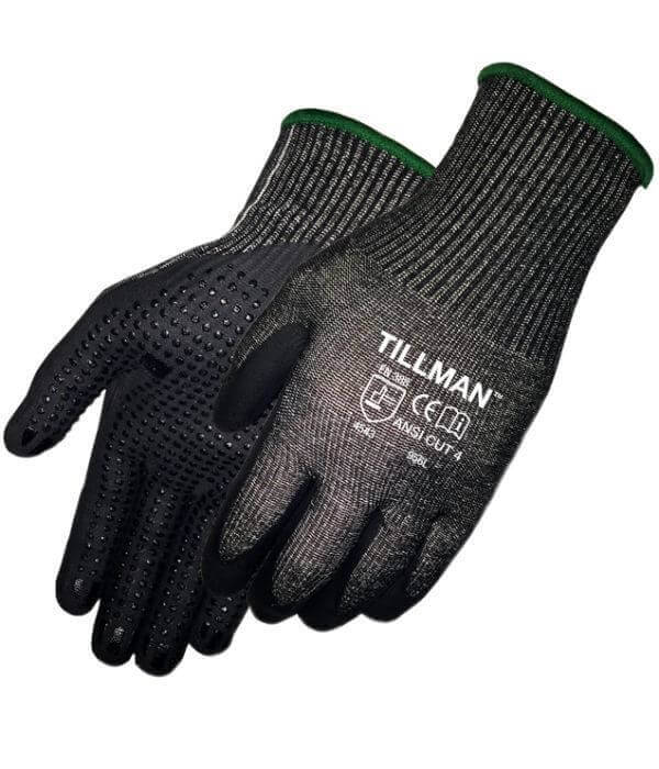 Tillman Cut Resistant Gloves (Dotted Micro Foam Nitrile)