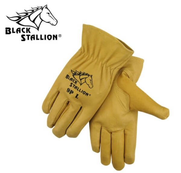 Revco Black Stallion Premium Grain Pigskin Driver's Gloves #9P