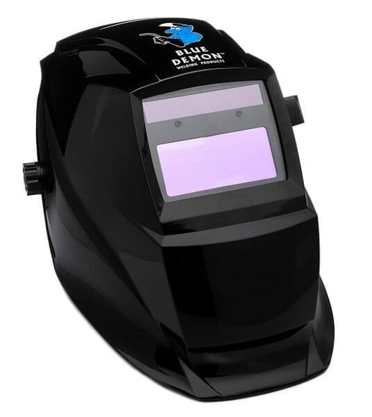 Blue Demon Blackout Welding Helmet #BDWH-BLACKOUT