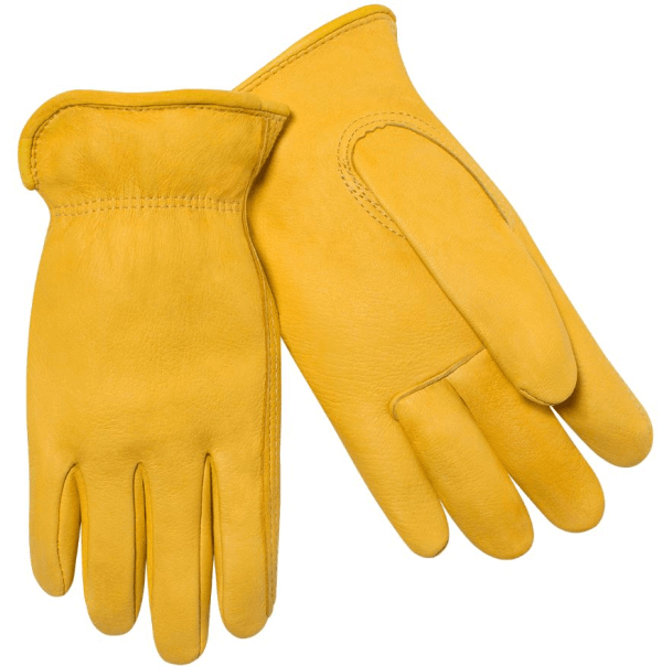 Steiner Industries Premium Grain Deerskin Drivers Gloves #D240